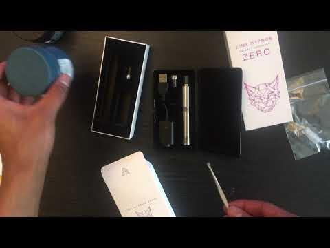 Linx hypnos zero open box review( concentrate vape)