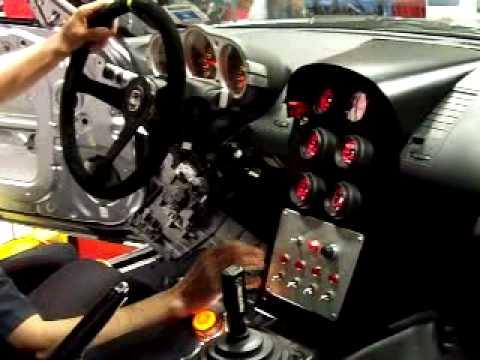 National Speed Shop Car 2003 Nissan 350z Illustrating