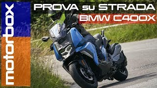 Nuovo Bmw C 400 X | Come va il monocilindrico di media cilindrata bavarese