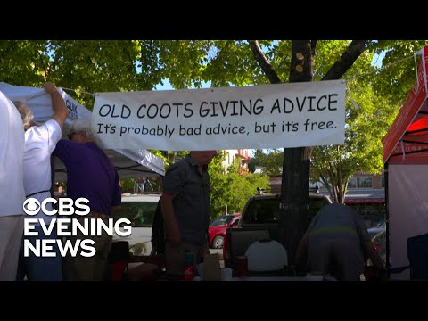The Wake Up Show - WATCH: 'Old Coots' Bad Advice Table A Hit At Farmer's Market