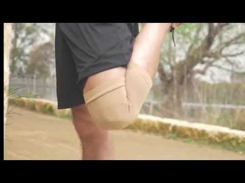Knee Support Compression Sleeve BeVisible Sports Live