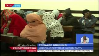 Teenagers caught on the wrong side of the law