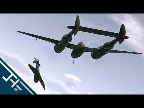 War Thunder: P-38 G