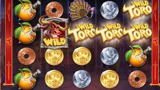 Super Win thanks to one risky Spin on Wild Toro