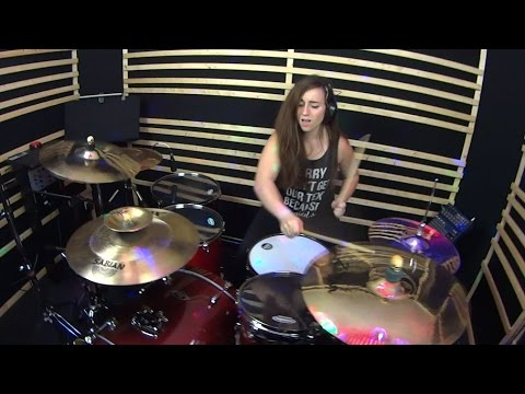 The Chainsmokers - Don't Let Me Down (Ephwurd Remix) - Female Drum Cover by Kelsey LaPiano