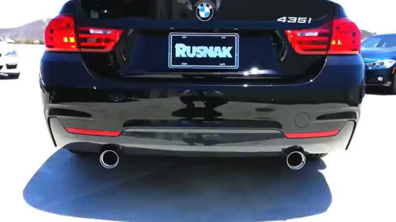 new bmw m performance exhaust sound bmw 435i walk around car review youtube. Black Bedroom Furniture Sets. Home Design Ideas
