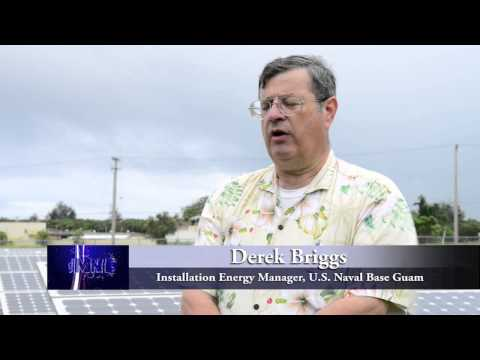 Naval Base Guam Solar Panels