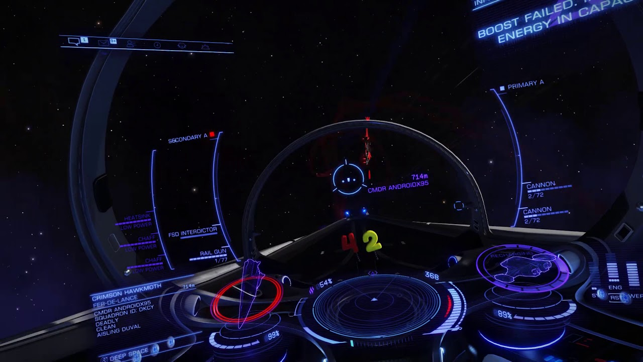 Repeat [Elite: Dangerous] The CounterCourier by