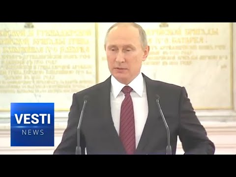 President Putin Congratulates New Military Commanders Fresh From War in Syria