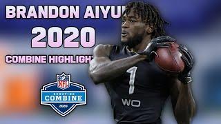 Brandon Aiyuk 2020 NFL Combine Highlights