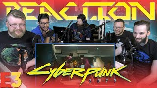 Cyberpunk 2077 E3 2018 Trailer REACTION!!
