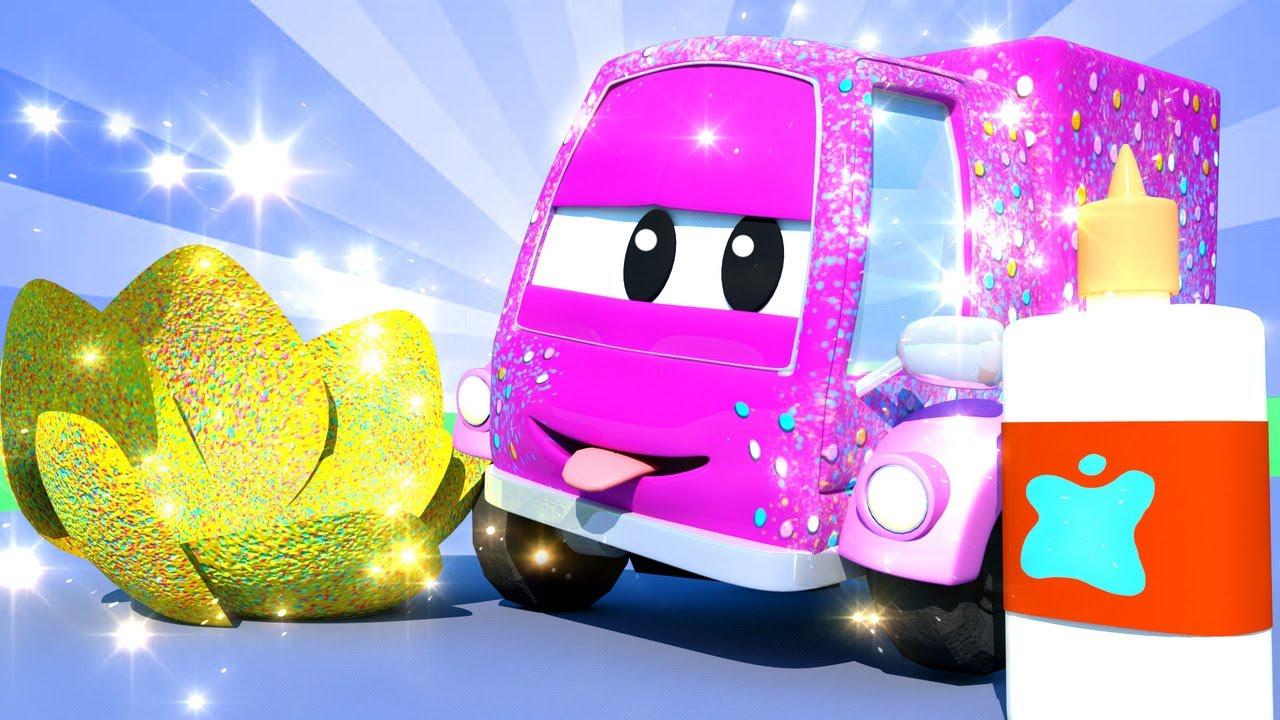 Tiệm rửa xe cho trẻ em - Rocky tên lửa 2 - Thành phố xe