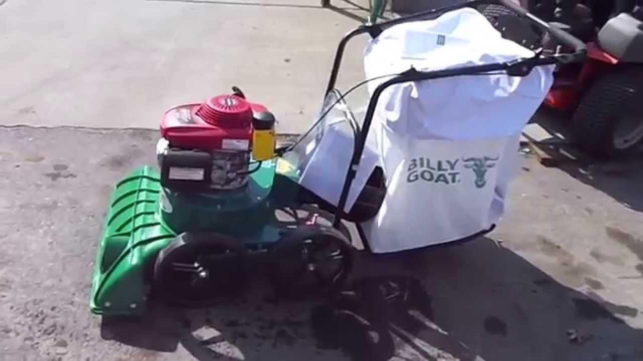 Billy Goat Lawn Leaf Debris Vacuum Kv650h 6 5hp Honda Engine