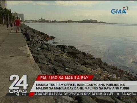 Manila Tourism Office, inengganyo ang publiko na maligo sa Manila Bay dahil malinis na raw ang tubig