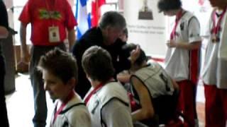 Mini Bulldogs De Québec Défi Sportif 2010 Remise Des Médailles Et Du Trophée