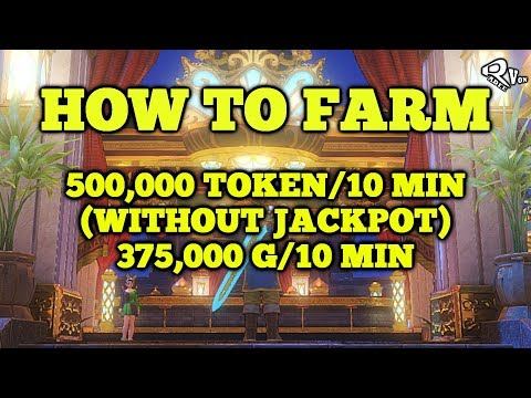 Dragon Quest XI - Fastest Way To Farm Token And Gold Guide