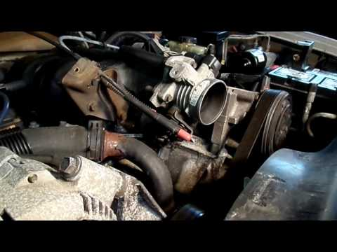 Ford Explorer Tips On Removing Upper Intake, Coil, Throttle Body, EGR, EGR Tube