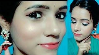 Indian wedding guest makeup look...