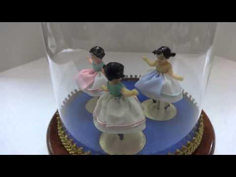 Custom Reuge triple dancing music box