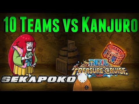 10 Teams vs Colosseum Kanjuro | One Piece Treasure Cruise