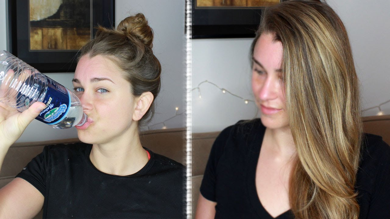 get fresh clean looking hair after the gym without washing! - youtube
