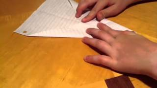 How To Make A Pretty Good Paper Airplane