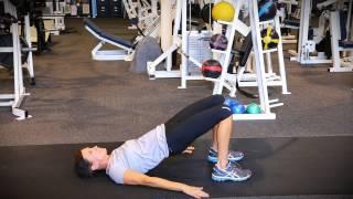 Floor Bridge - Exercise Training Video