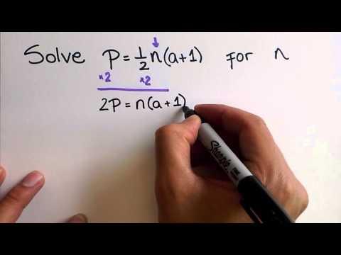 Transforming Formulas