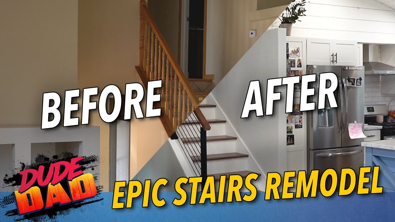 Epic Stairs Remodel
