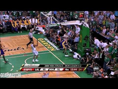 2008 NBA Finals - Los Angeles vs Boston - Game 6 Best Plays