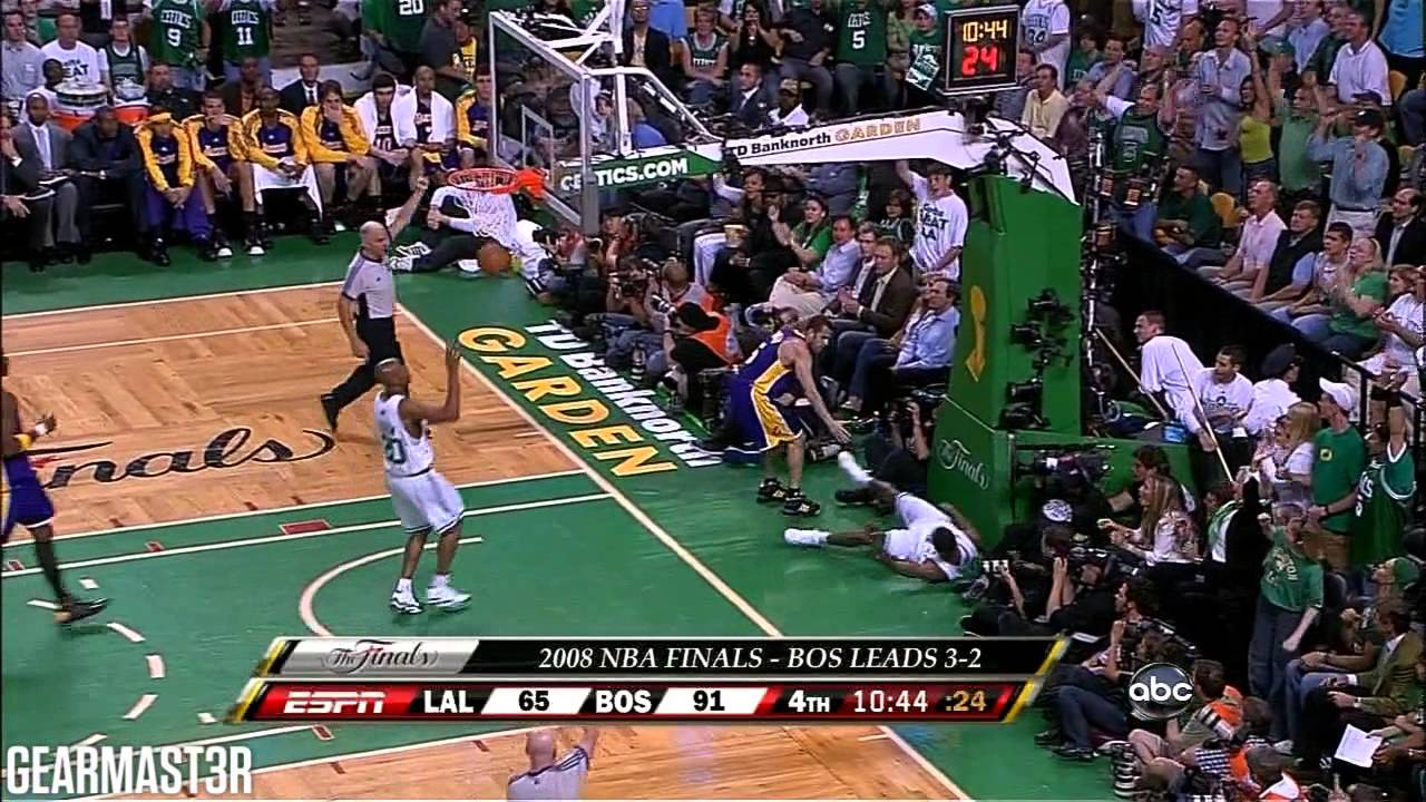 2008 NBA Finals - Los Angeles vs Boston - Game 6 Best Plays - YouTube