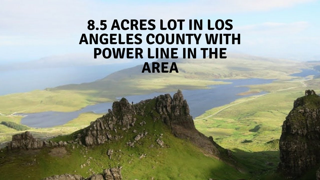8.5 Acres Near Los Angeles $7,490! Yes That Price Is Right!!