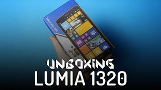 Nokia Lumia 1320 - Rozpakowanie - Unboxing (PL)