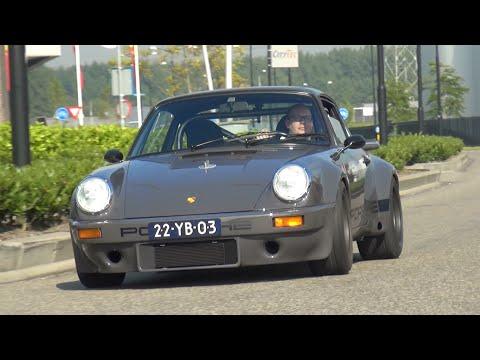 Custom Built Porsche 911 Rsr Start Revs Accelerations