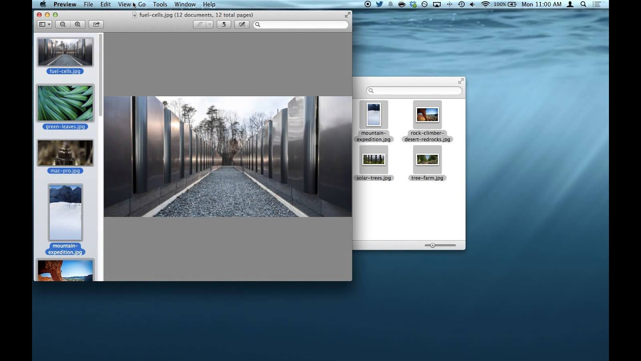 How to Batch Rotate Image Files in Mac OS X Quickly with Preview