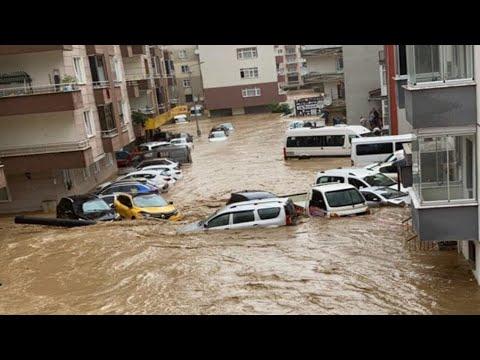 Apocalypse in Turkey! Terrible flood hit Arhavi, Artvin, Turkey