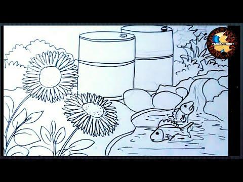 Teknik Menggambar Flora Fauna Dan Alam Benda Youtube