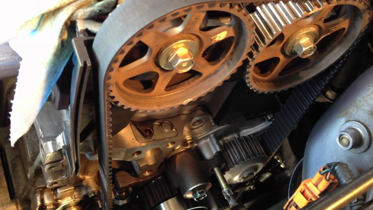 Timing Belt Walking And Settling H22a4