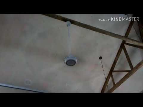 KDK K15V0 Industrial Ceiling Fan At Toilet Room