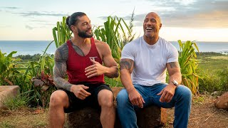 Dwayne johnson and hiram garcia wrap-up their conversation on 'the rock: through the lens,' a photographic record of brotherhood over twenty years in m...