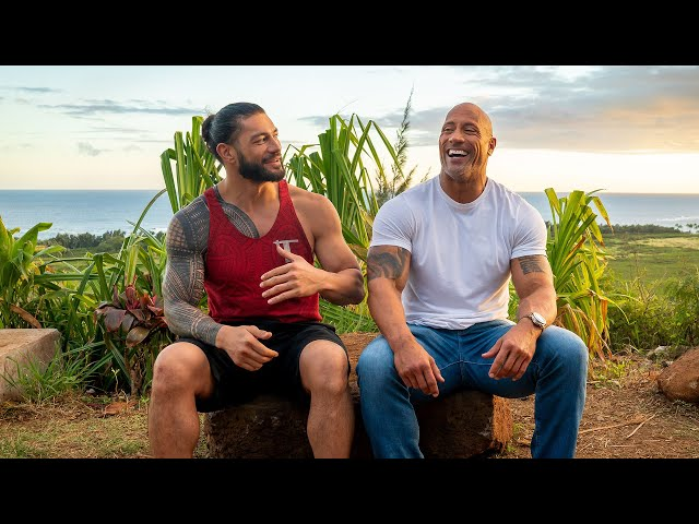Dwayne 'The Rock' Johnson Talks Facing Roman Reigns at WrestleMania