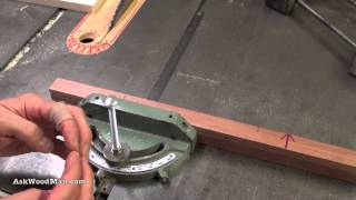 Table Saw Tip #5: How To Adjust Table Saw Miter Gauge To Remove Play