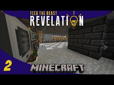 Quarries, Ore Processing, Power, & Storage - 1.12 Modded Minecraft FTB Revelation SMP : E02