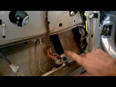 Reparar elevador de vidrio manual golf