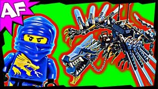 LIGHTNING DRAGON Battle 2521 Lego Ninjago Stop Motion Set Review