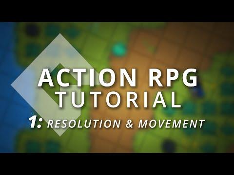 GameMaker Studio 2: Action RPG Tutorial (Part 1: Moving & Resolution)