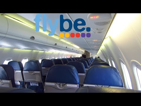 TRIP REPORT | Flybe Dash 8 | London City To Cardiff | Empty Flight | Economy Class [Full HD]