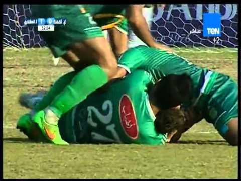 هدف مباراة الإتحاد السكندري VS غزل المحلة 1-0 الدوري الممتاز
