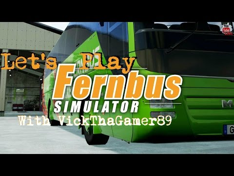Let's Play | Fernbus Coach Simulator 2016 | Express Route 911 Hannover - Bremen Germany |  Live |