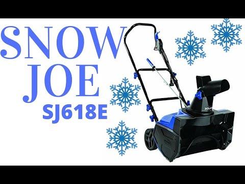 SnowJoe Electric Snowblower SJ618E Review Snow Thrower